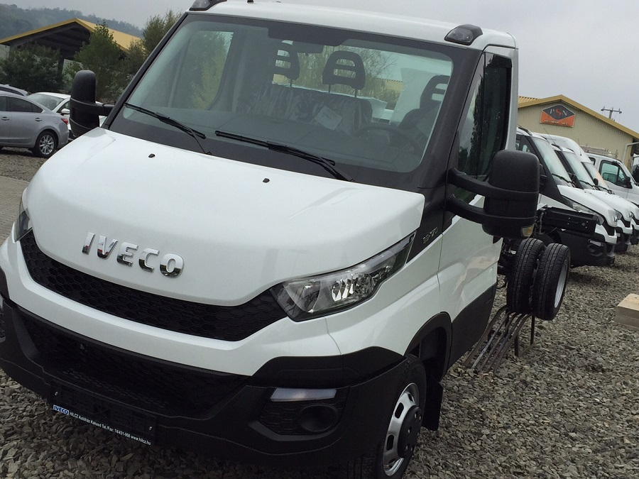 New IVECO Daily alváz