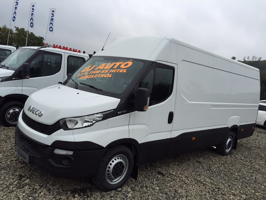 New IVECO Daily zárt